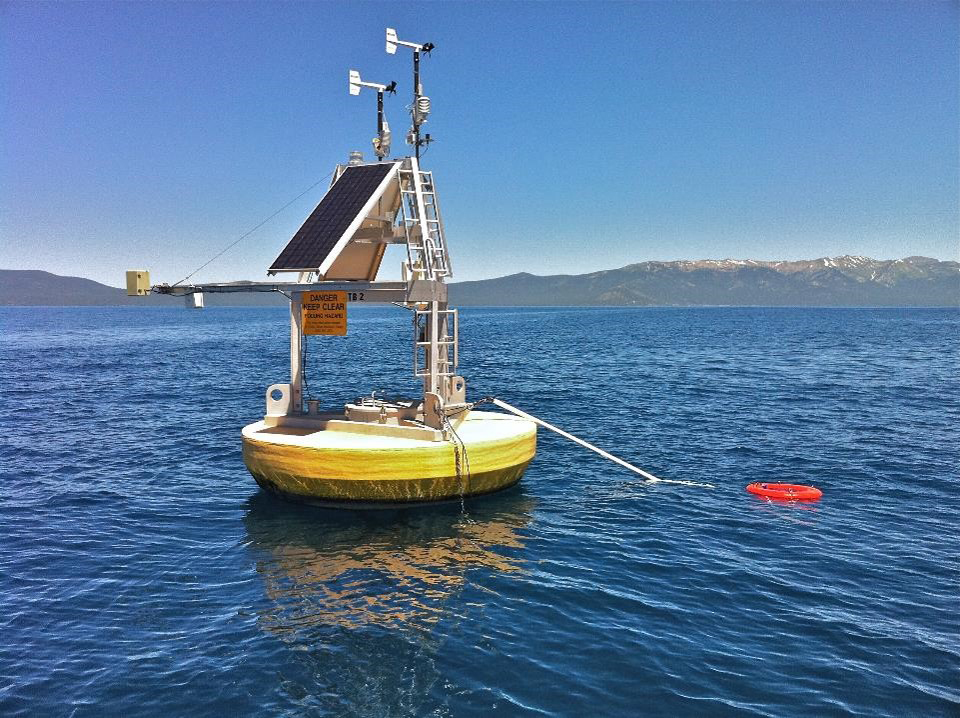 Thermal monitoring buoys continuously monitor water temperature, but are expensive to purchase and maintain and only measure one point of data.