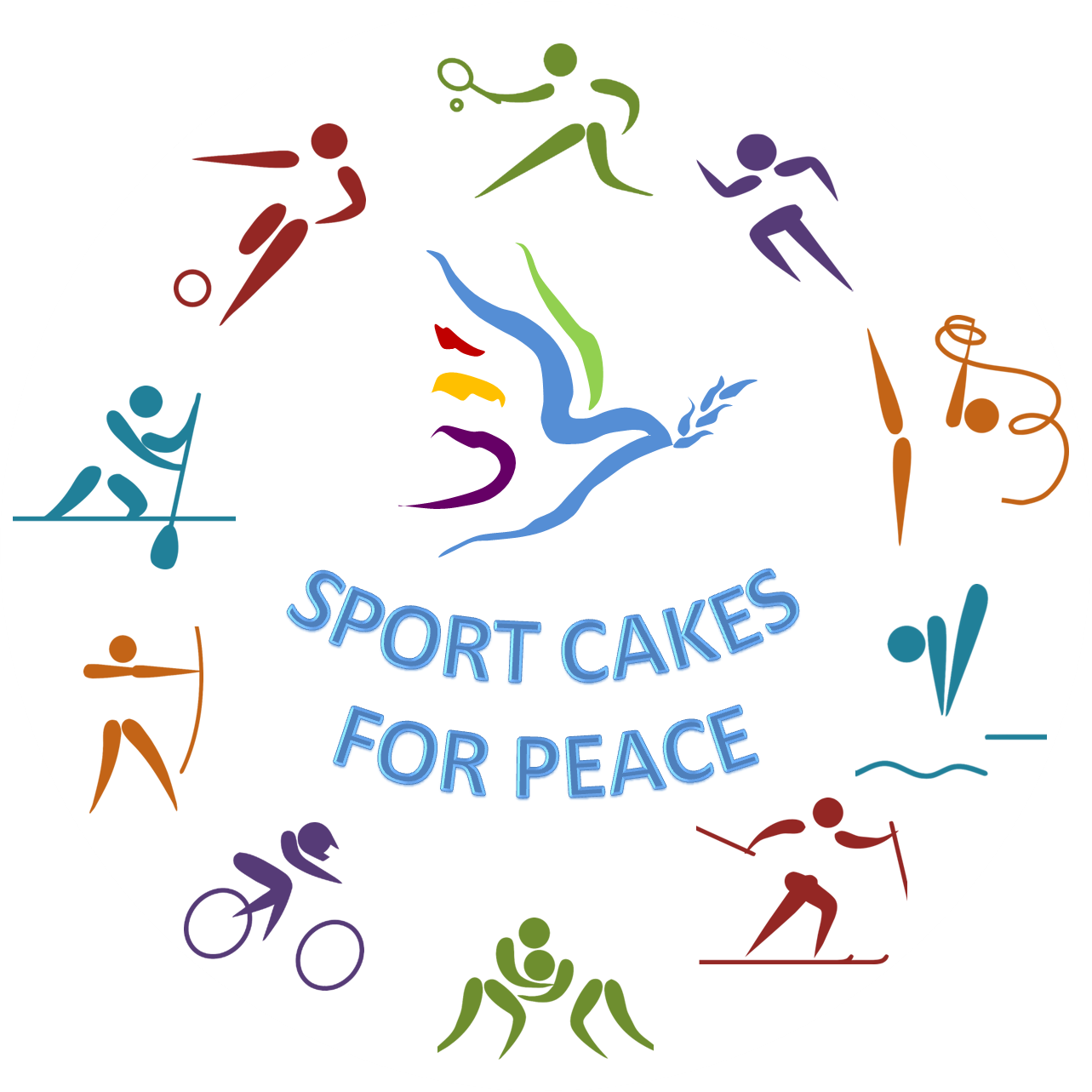 Sports Cakes for Peace