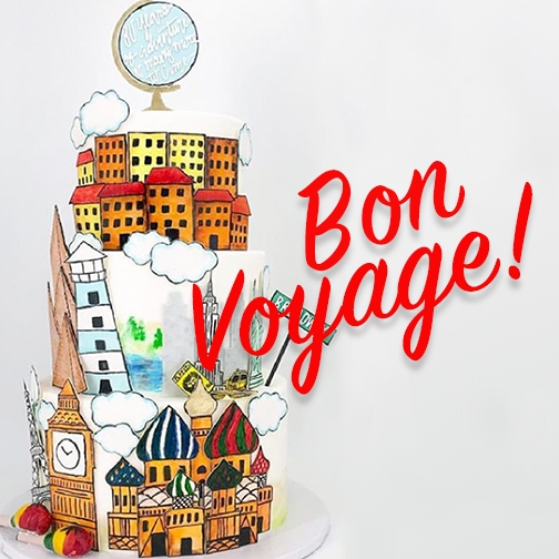 Bon Voyage Red