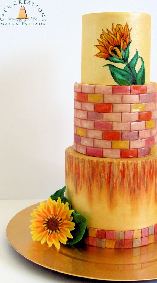 Showcase - Cake As Canvas - Mayra