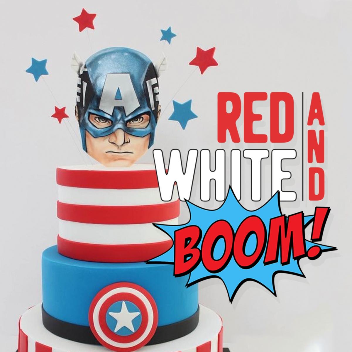 Showcase Red White Boom 1