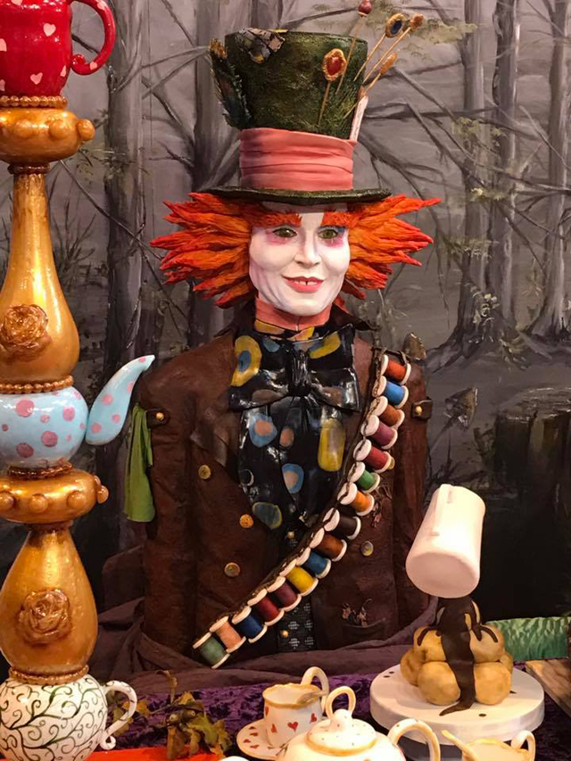 Willy Wonka bust