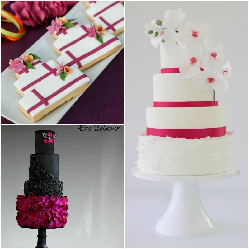 Satin Ice Fuschia Pink Fondant Cakes & Cookies