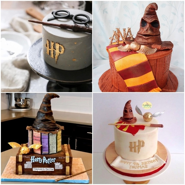 satinice_fondant_harry_potter_sorting_hat_cakes_3