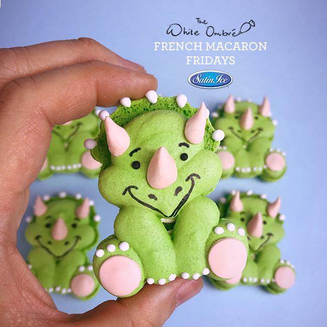 Sff Friday Macaron Dinosaur1