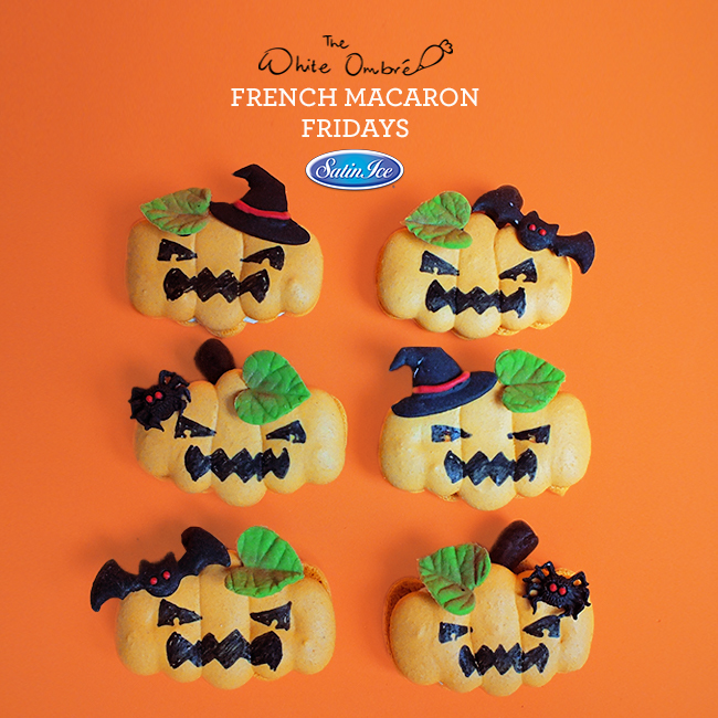 Sff Friday Macaron Pumpkins