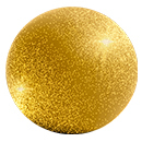 Satin Ice Shimmer Fondant Ball Gold E Commerce