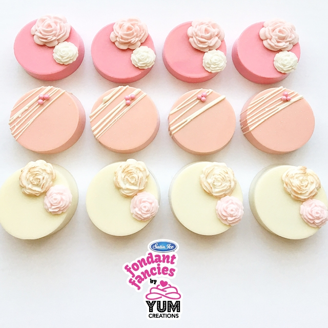 2019 Fondant Fancies With Yum Creations 1 25 B