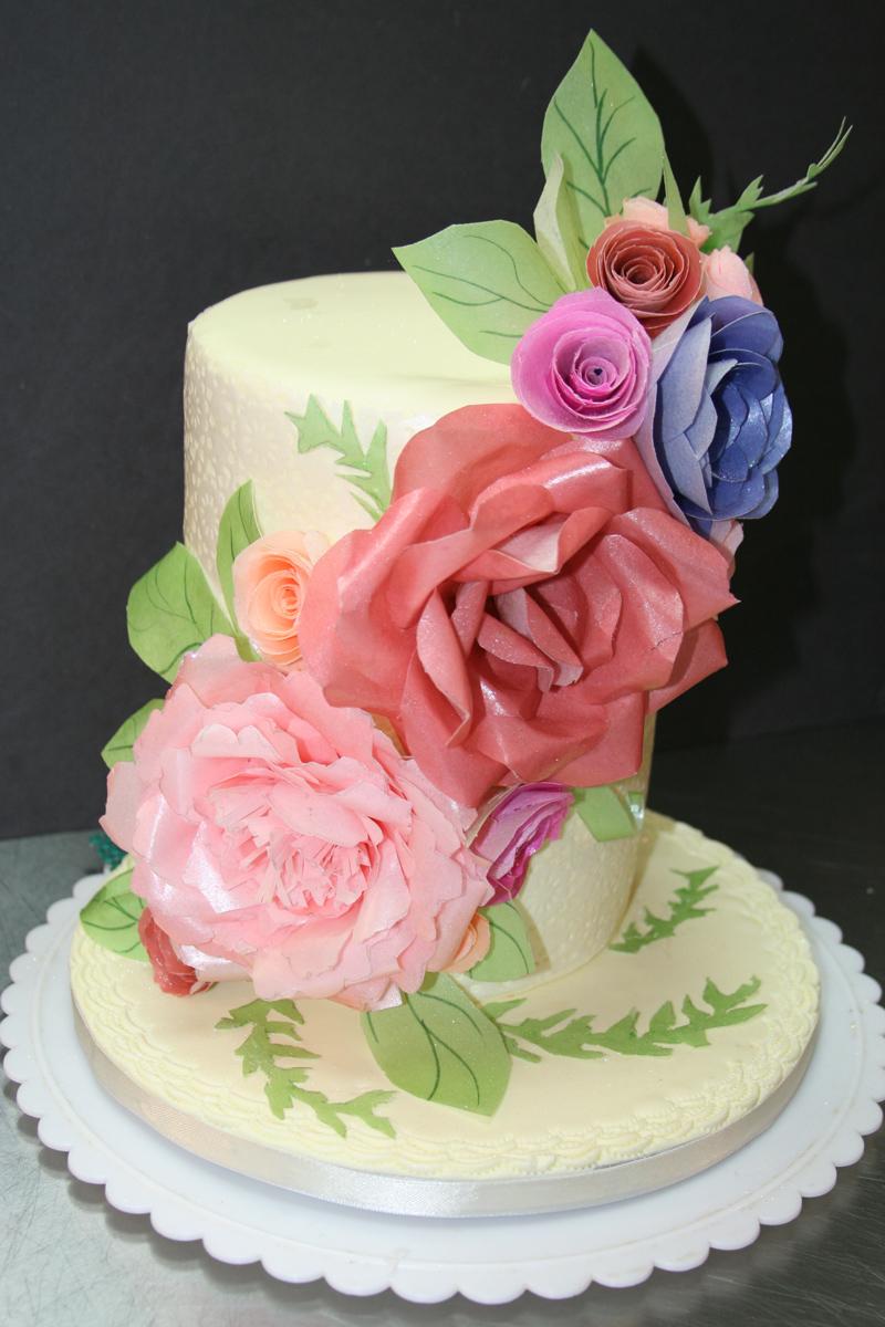 Lush Sugar Rose Cake