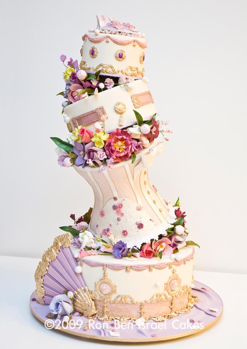 Topsy Turvey Victorian Cake
