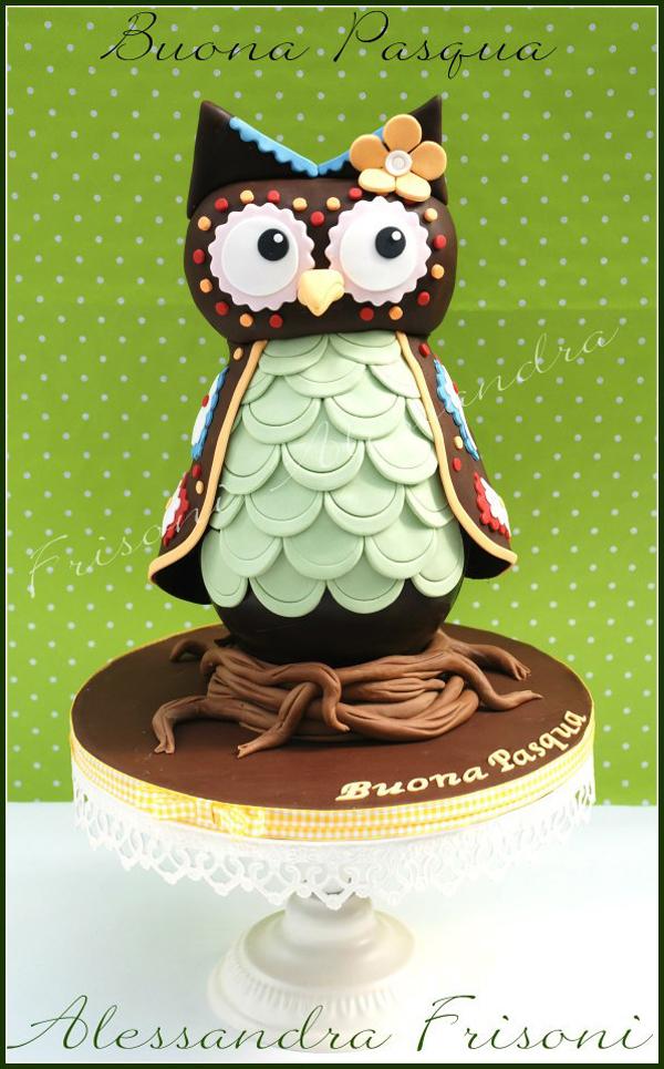 Sculpted Owl