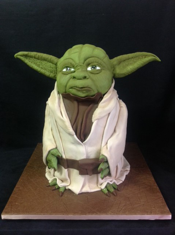 Sculpted Yoda