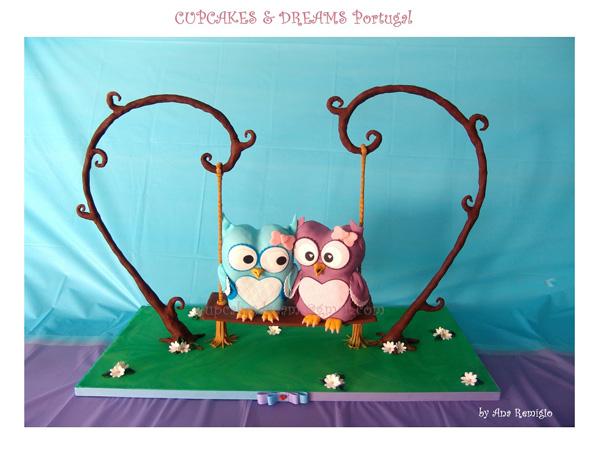 Sculpted Owls