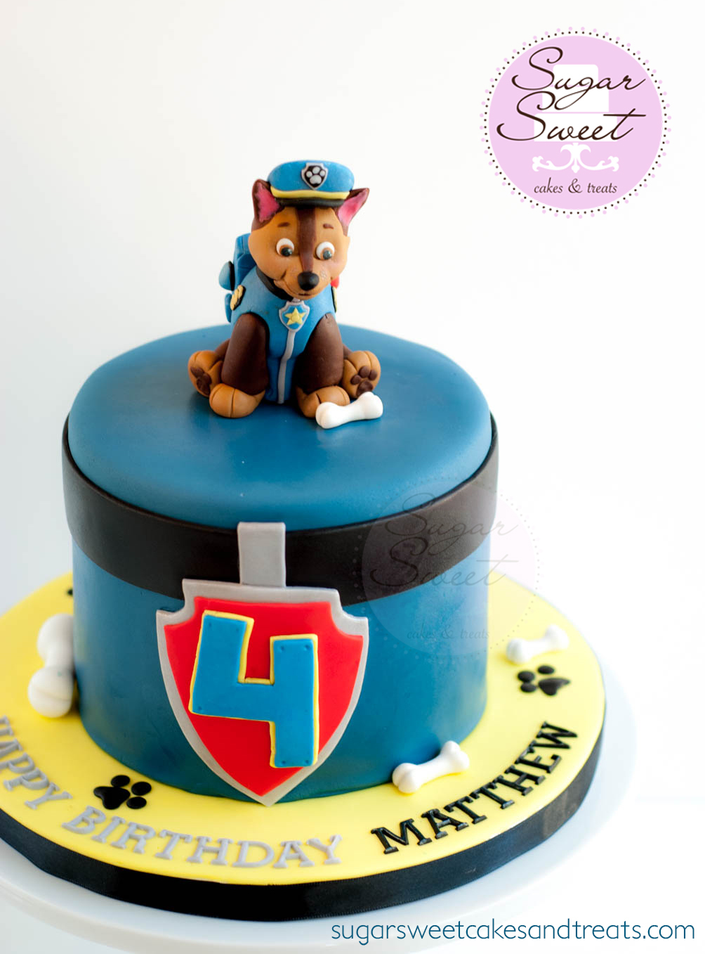 Paw Patrol Mini Birthday Cake