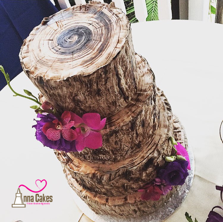Tree Bark Wedding