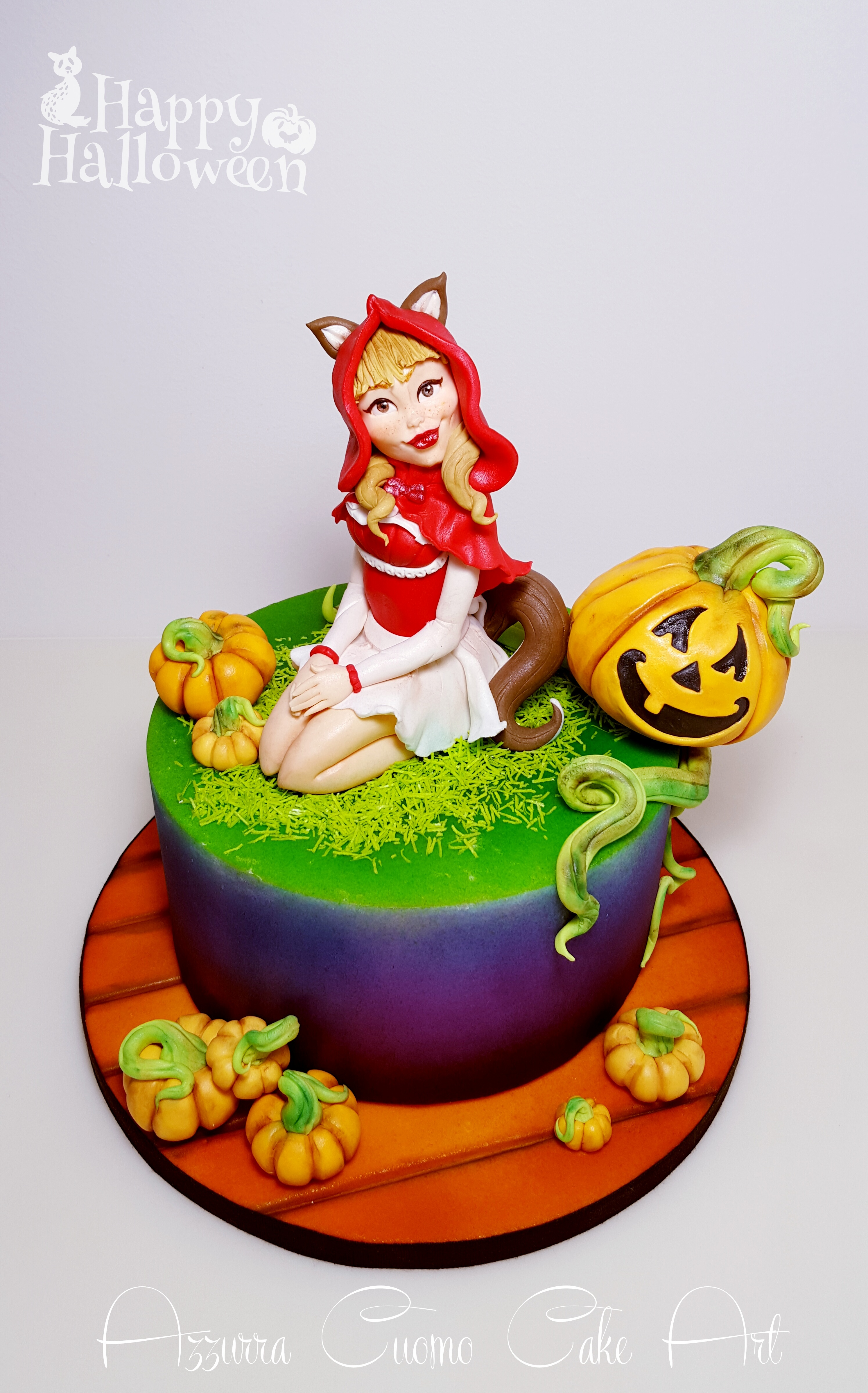 Little Red Riding Hood Halloween cake