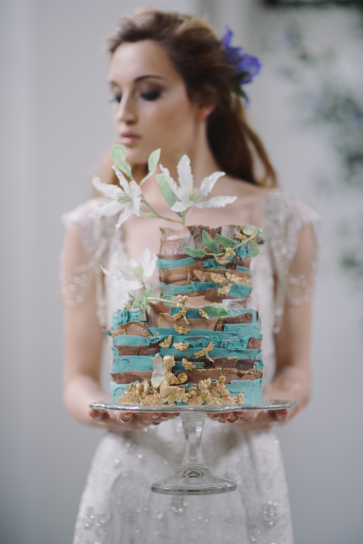 Turquoise and gold wedding