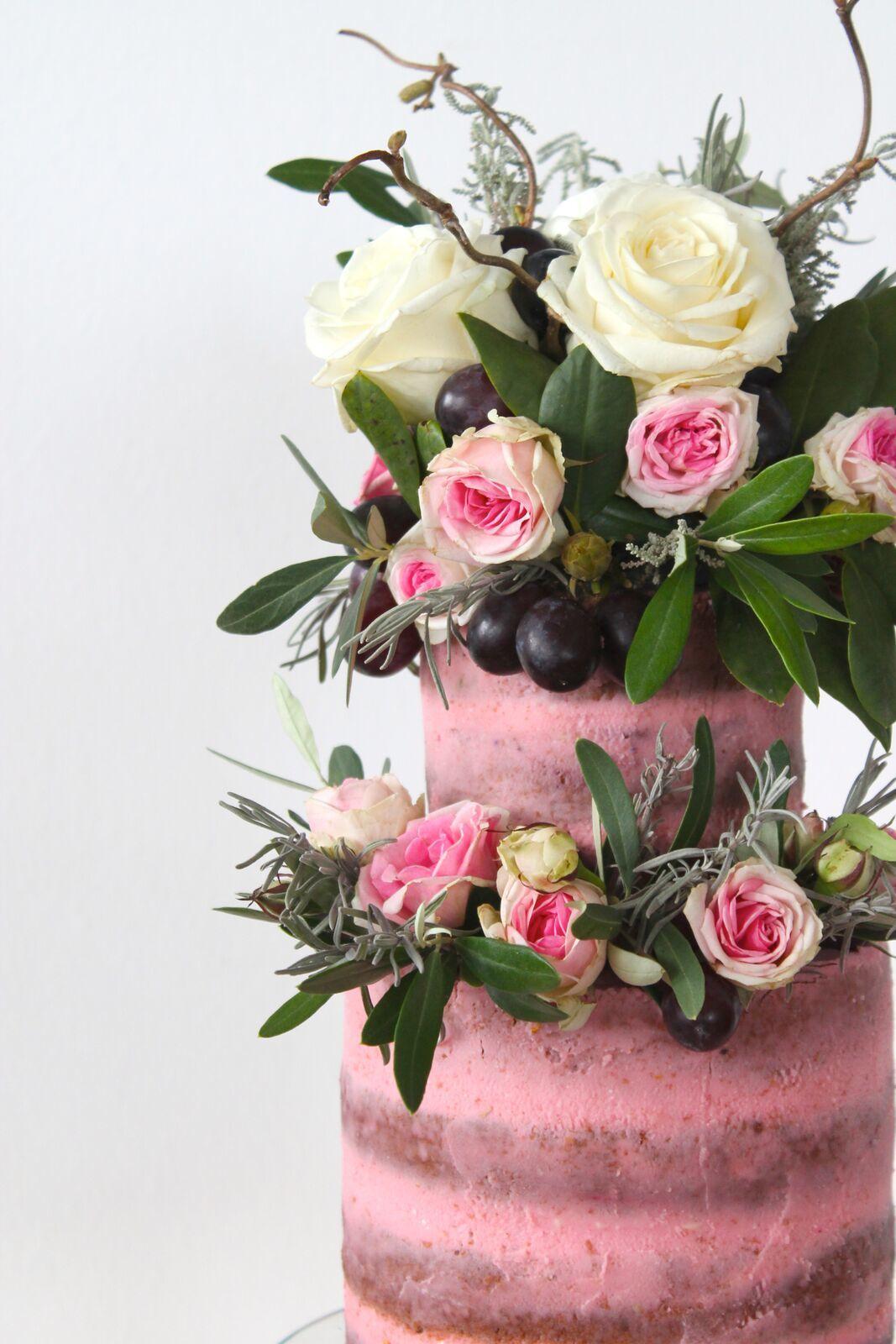 Spring Sugar Flower Wedding Bouquet