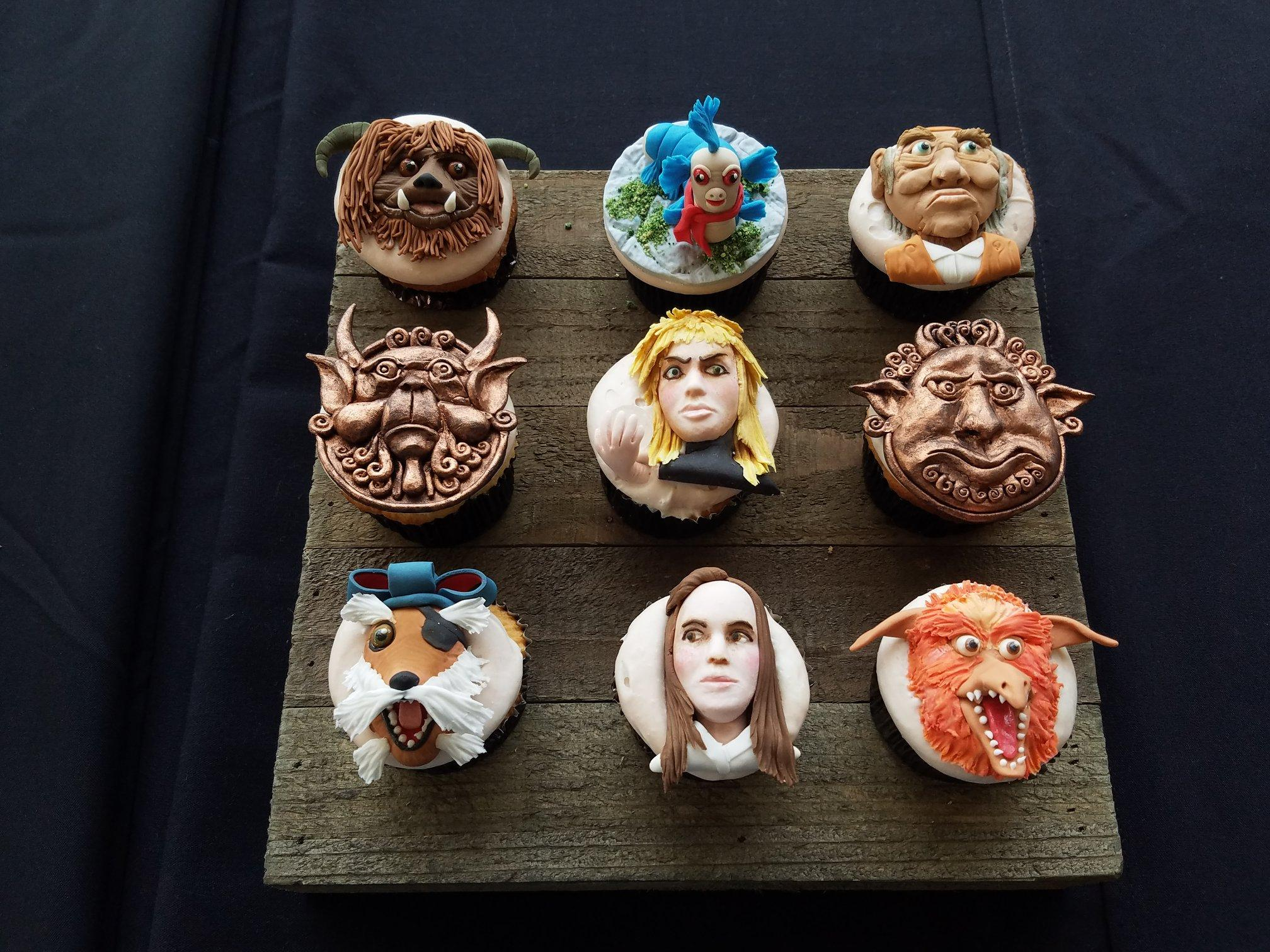 Labyrinth cupcakes