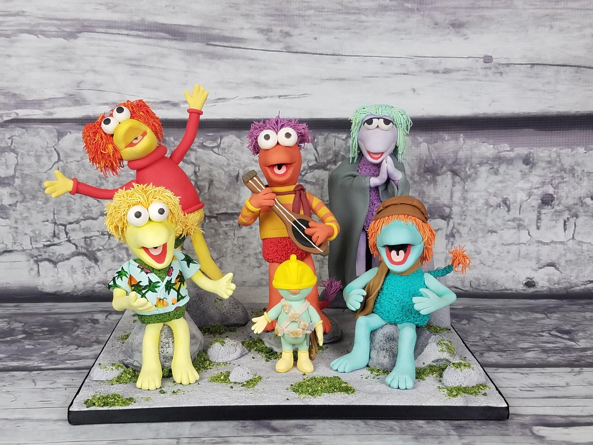 Fraggle Rock figurines