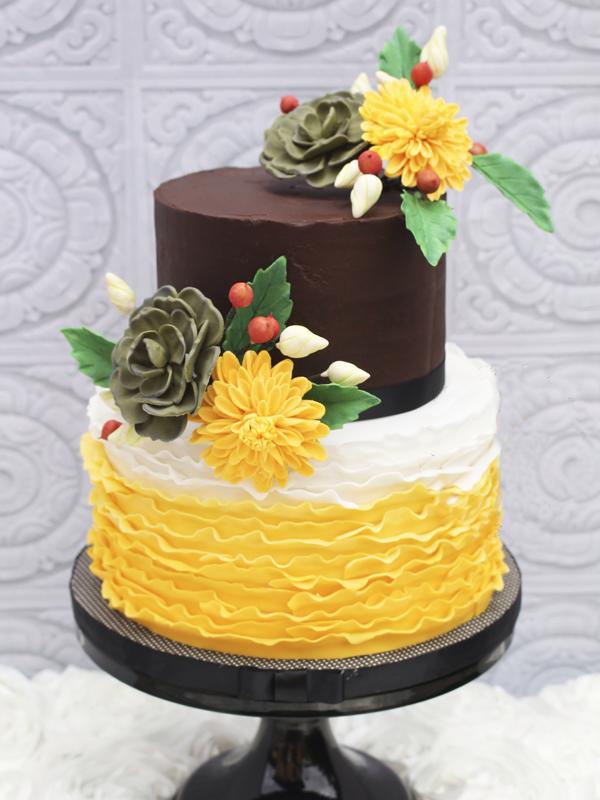 Chocolate & Yellow
