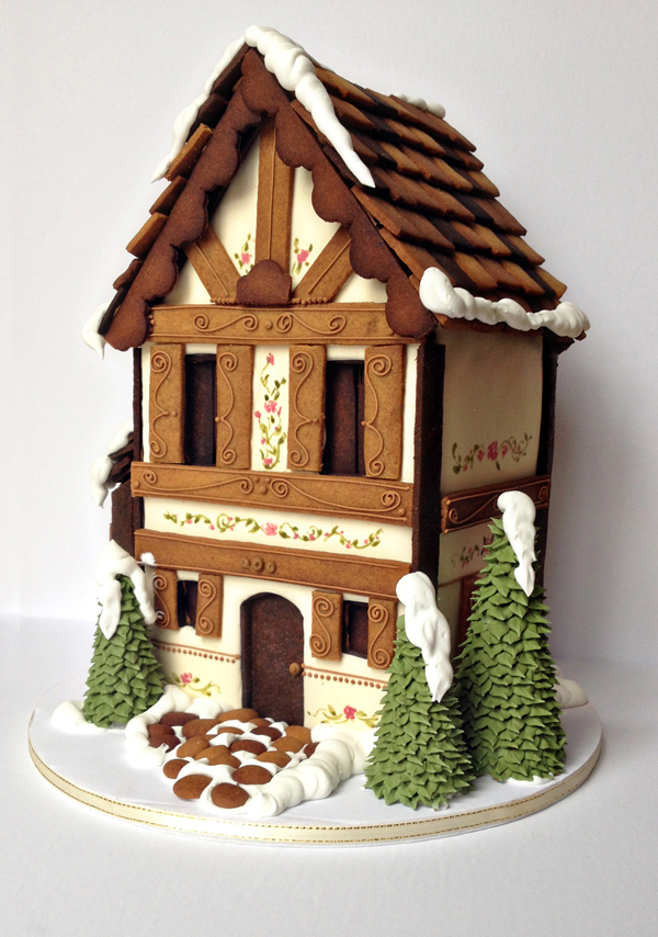 Brown Gingerbread House