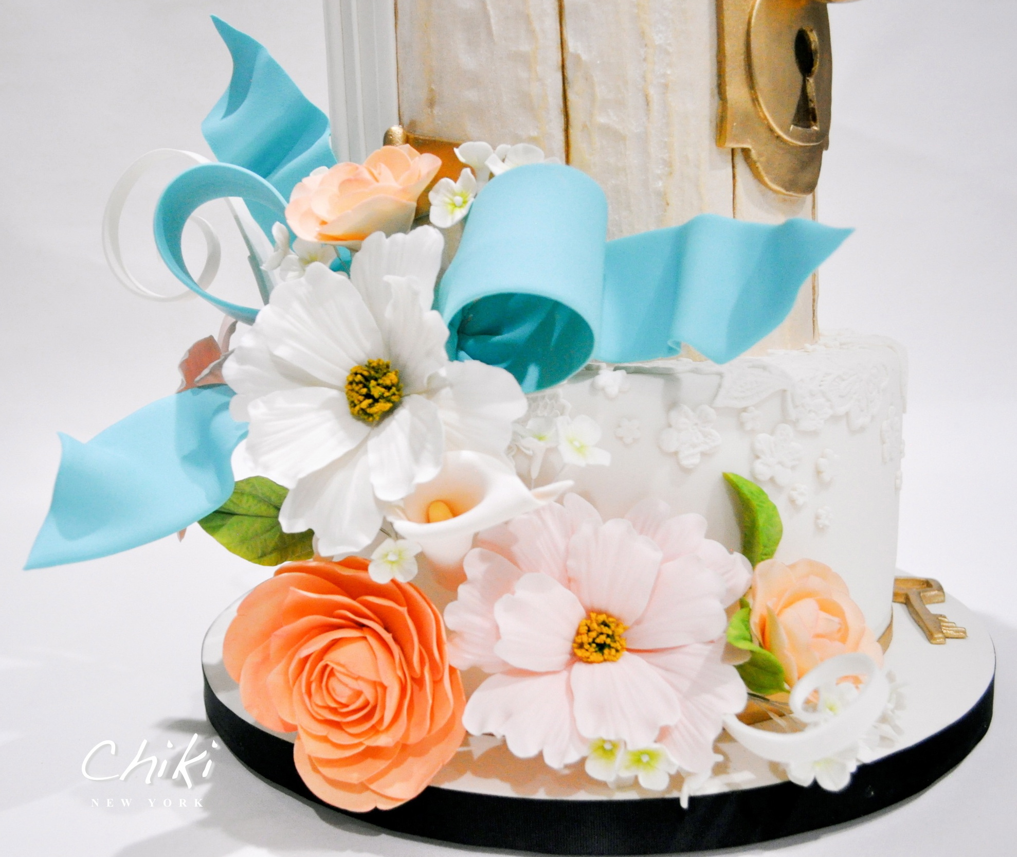 Bouquet of sugar flowers