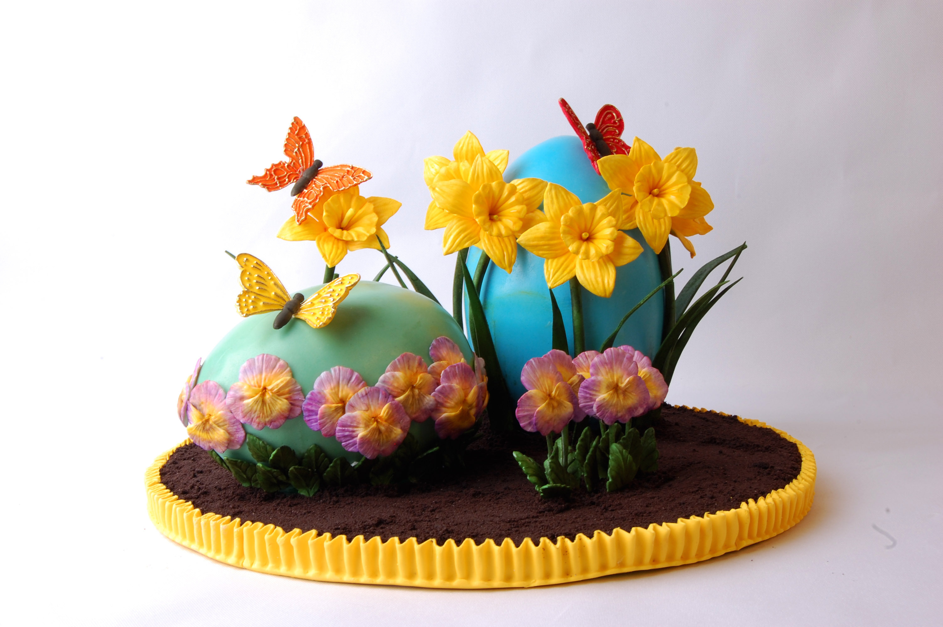 Choco Pan Gum Paste Gilles Leblanc Of Les Gateaux De Gilles Seasonal 1