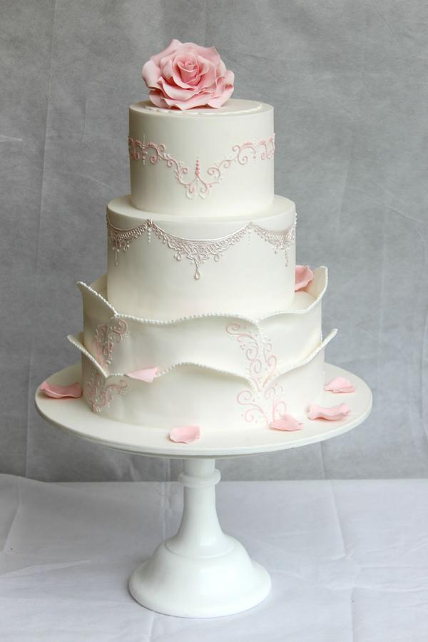 White & Pink Wedding