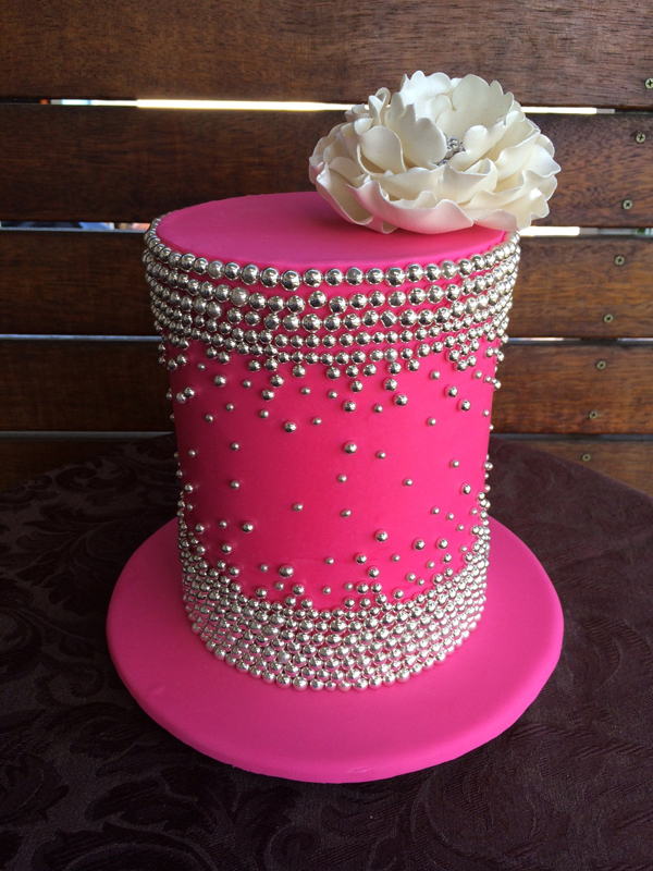 Barrel Bling Cake