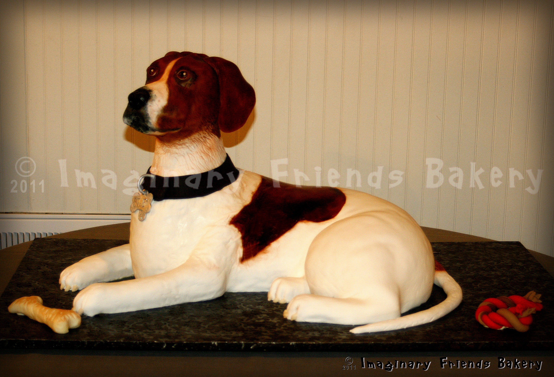 Sculpted dog