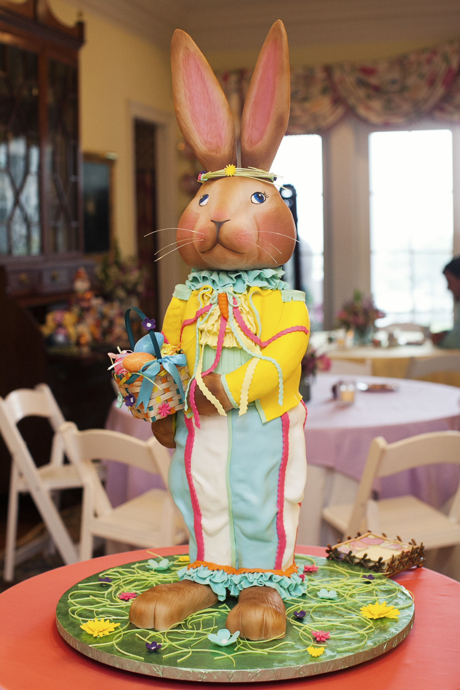 Sculpted Easter Bunny