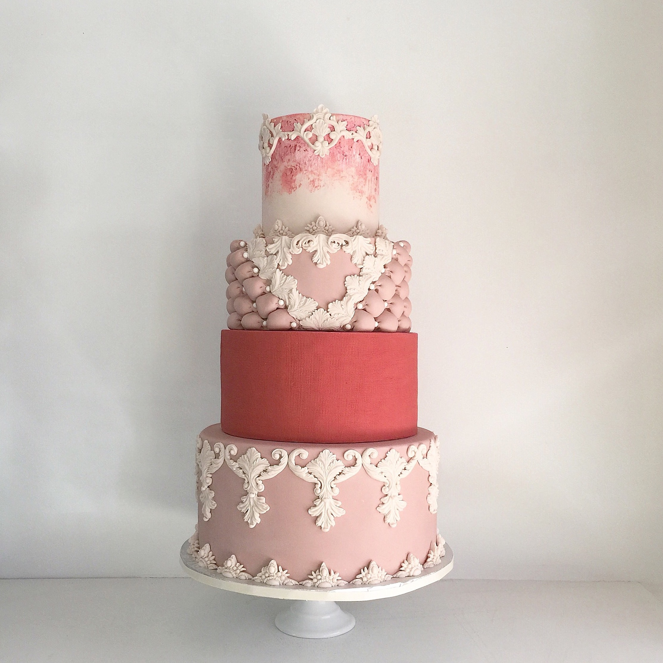 Red & Pink Victorian Wedding