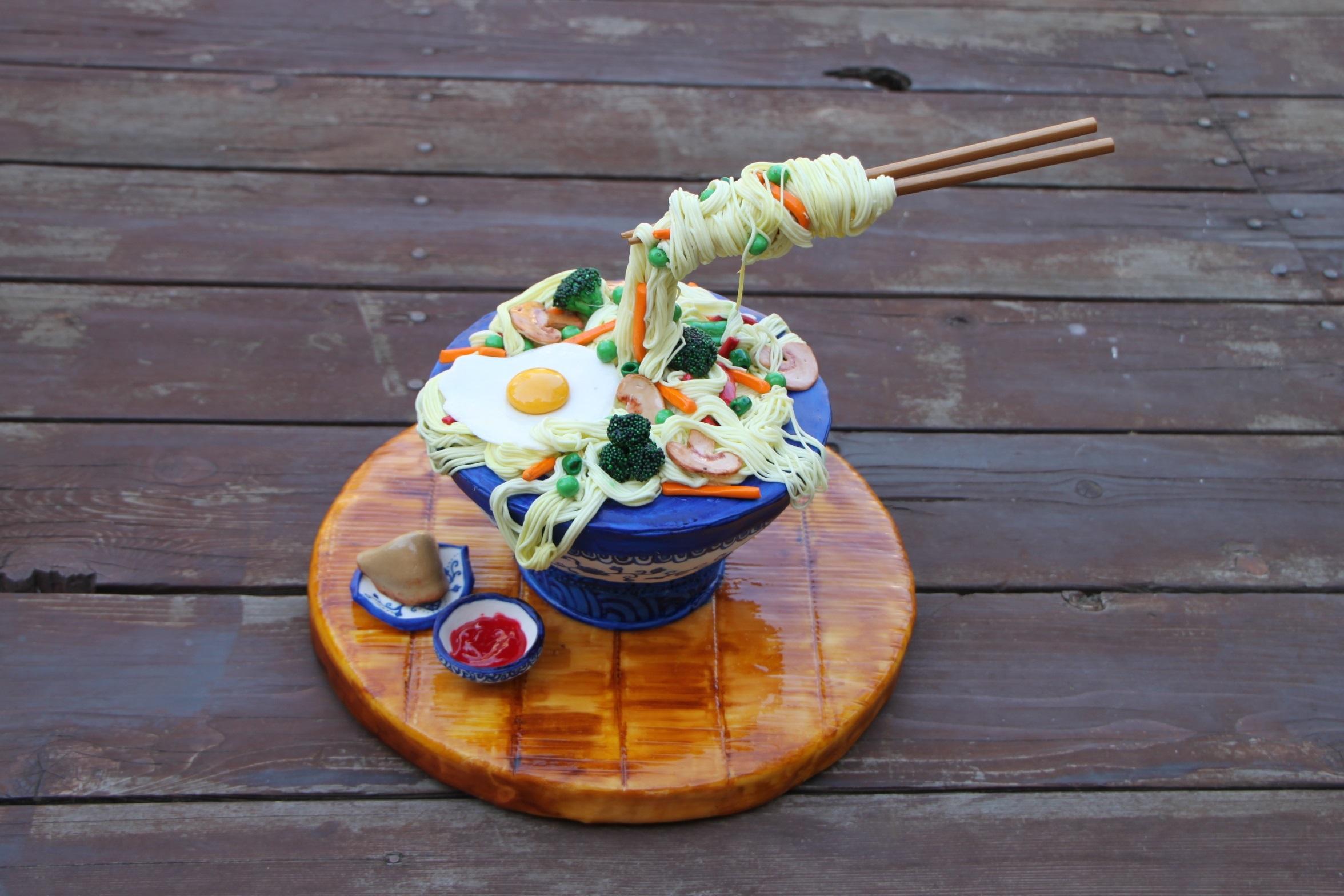 Gravity Defying Sushi Bowl