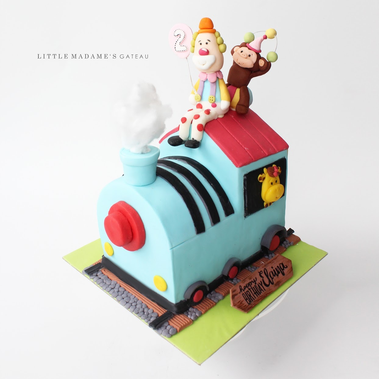 Animal Train Birthday