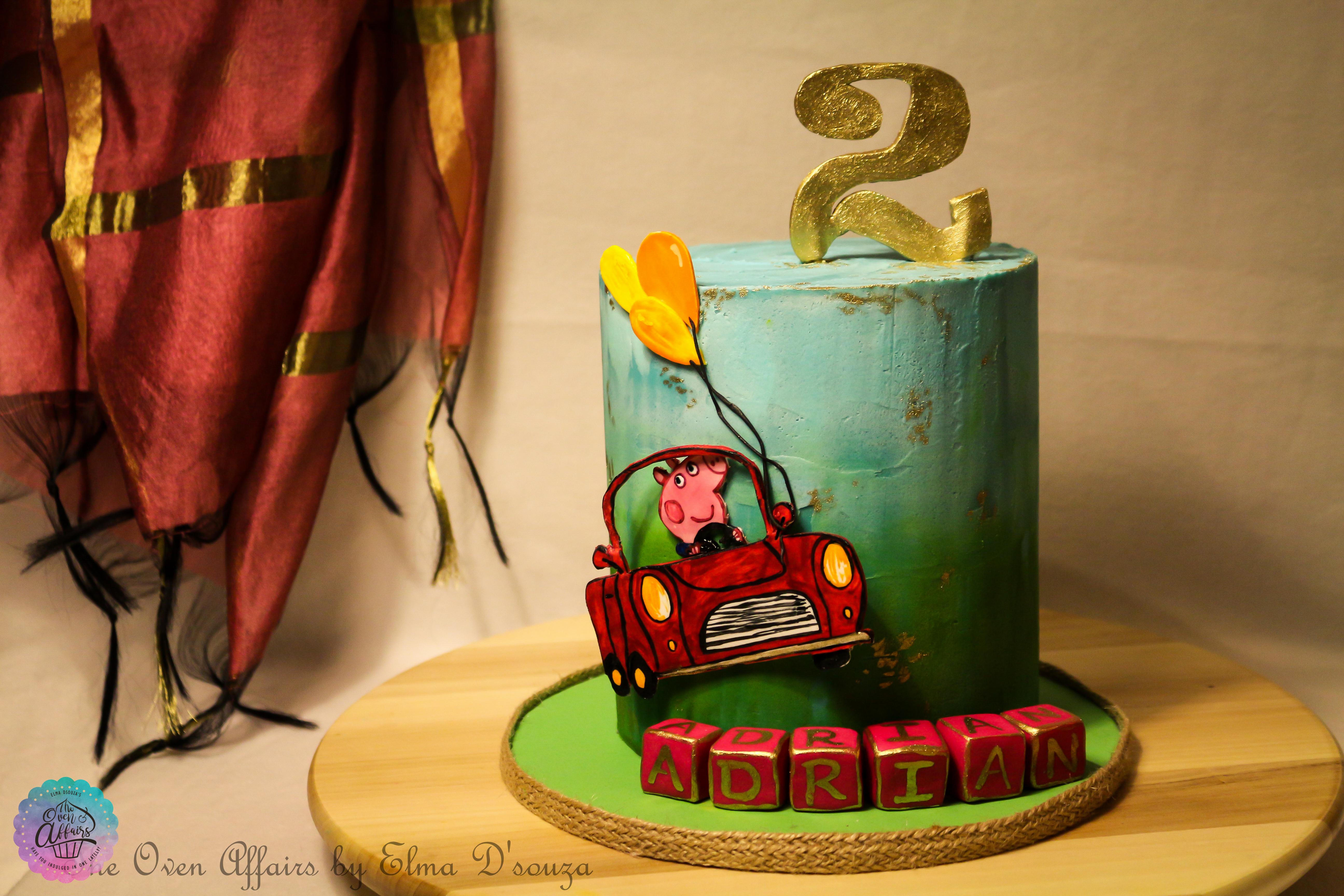Pepa Birthday Cake