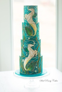 Mythical Wedding cake
