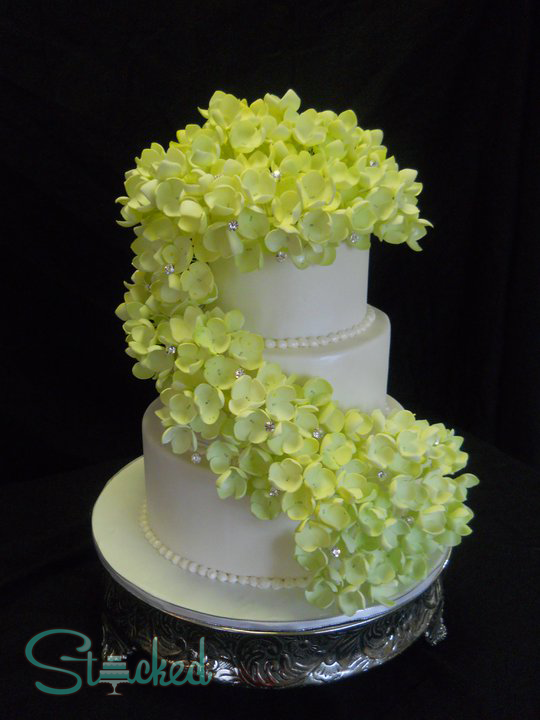 Yellow sugar Flower wedding