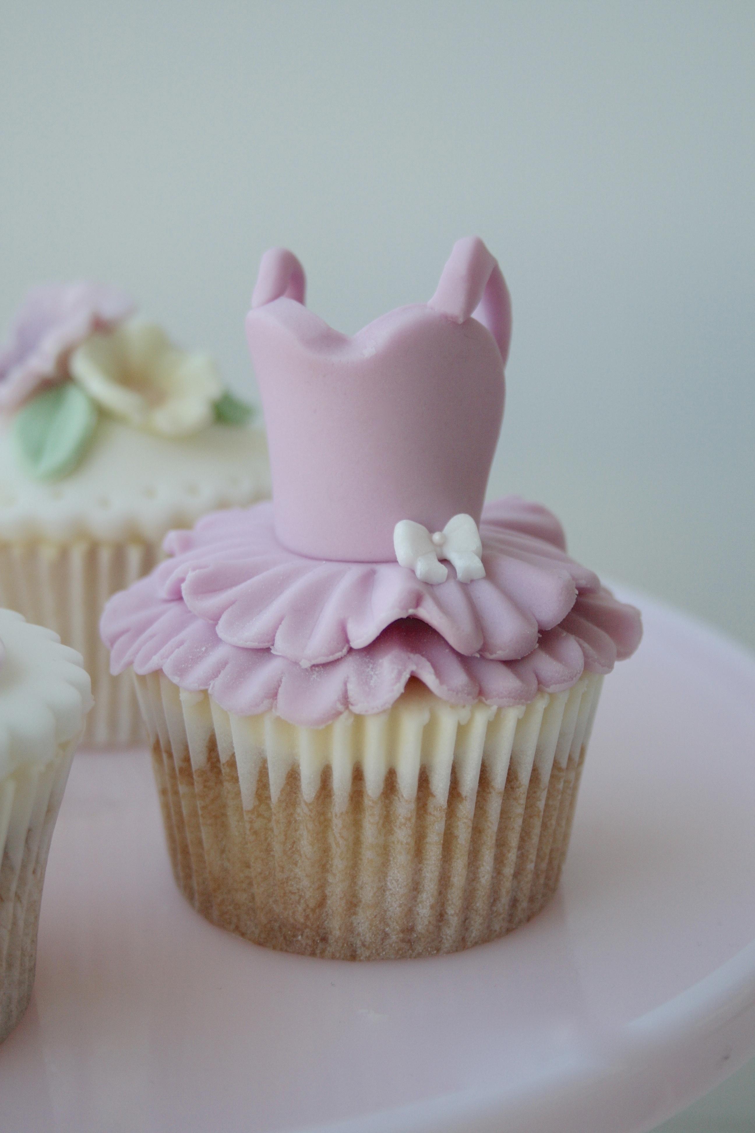 Pink Tutu Cupcakes