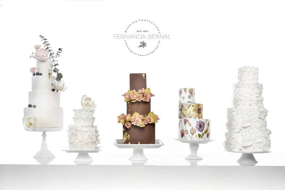 Wedding Cake Dessert Table