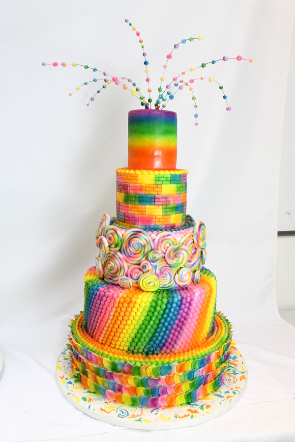 Rainbow Confetti Birthday
