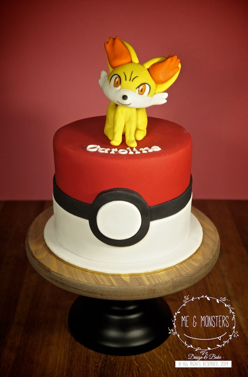 Mini Pokemon themed birthday