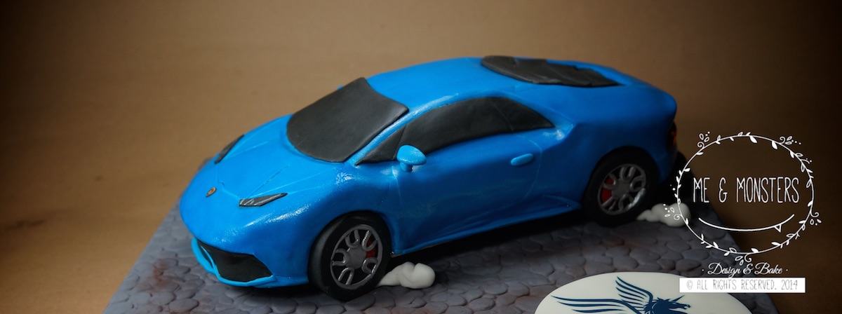 Blue race car birthday