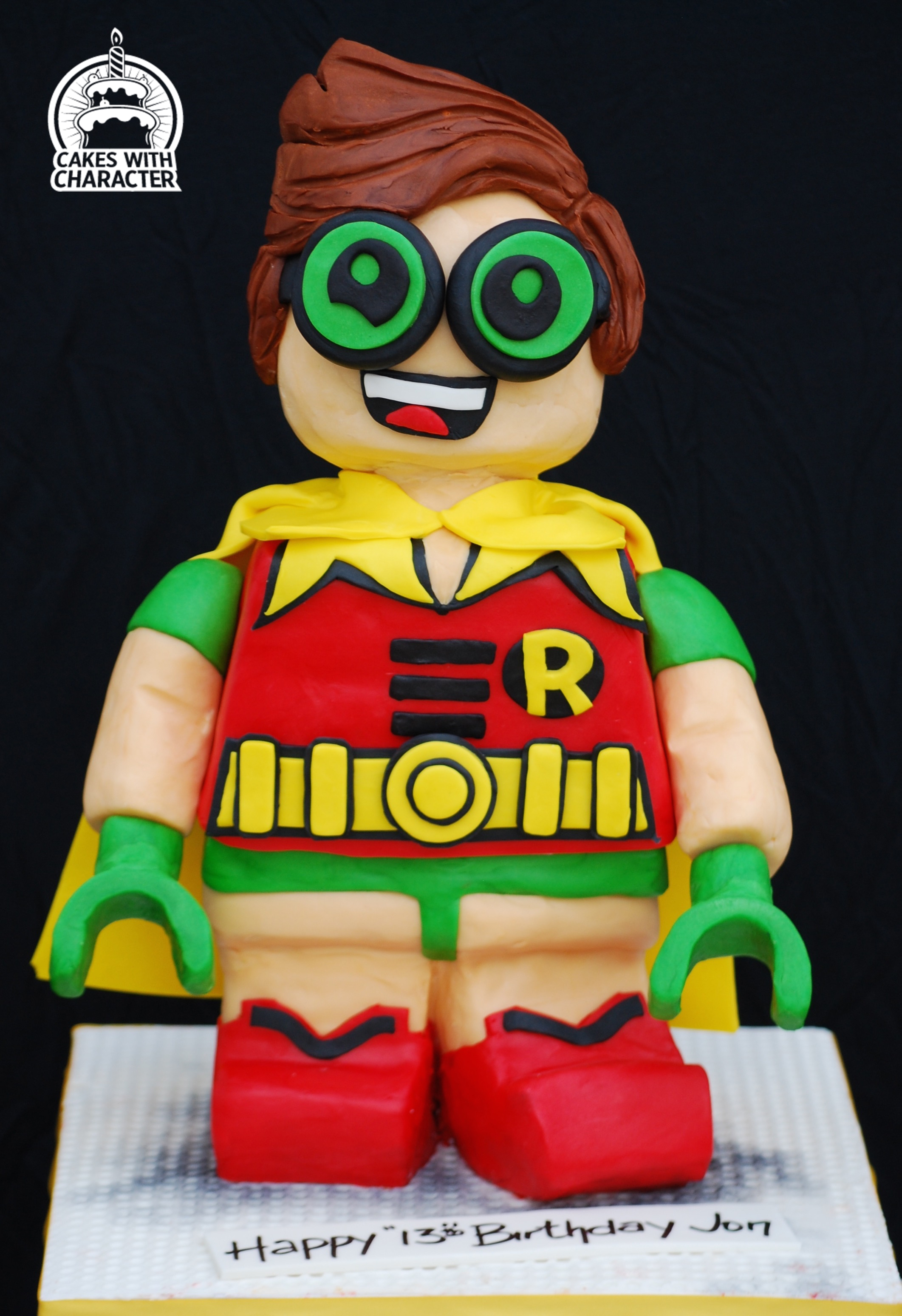 Lego robin cake