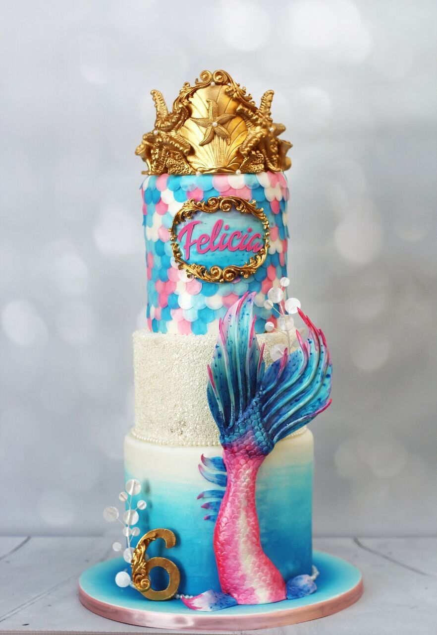Mermaid Girls Birthday