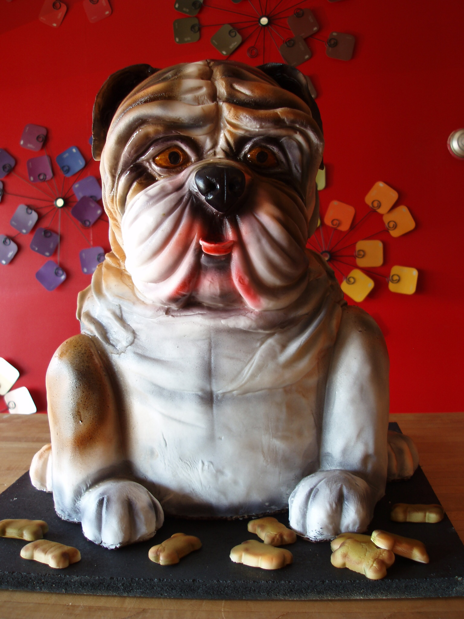 Sculpted Pug