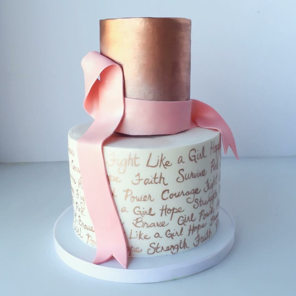 Breast Cancer awareness cake