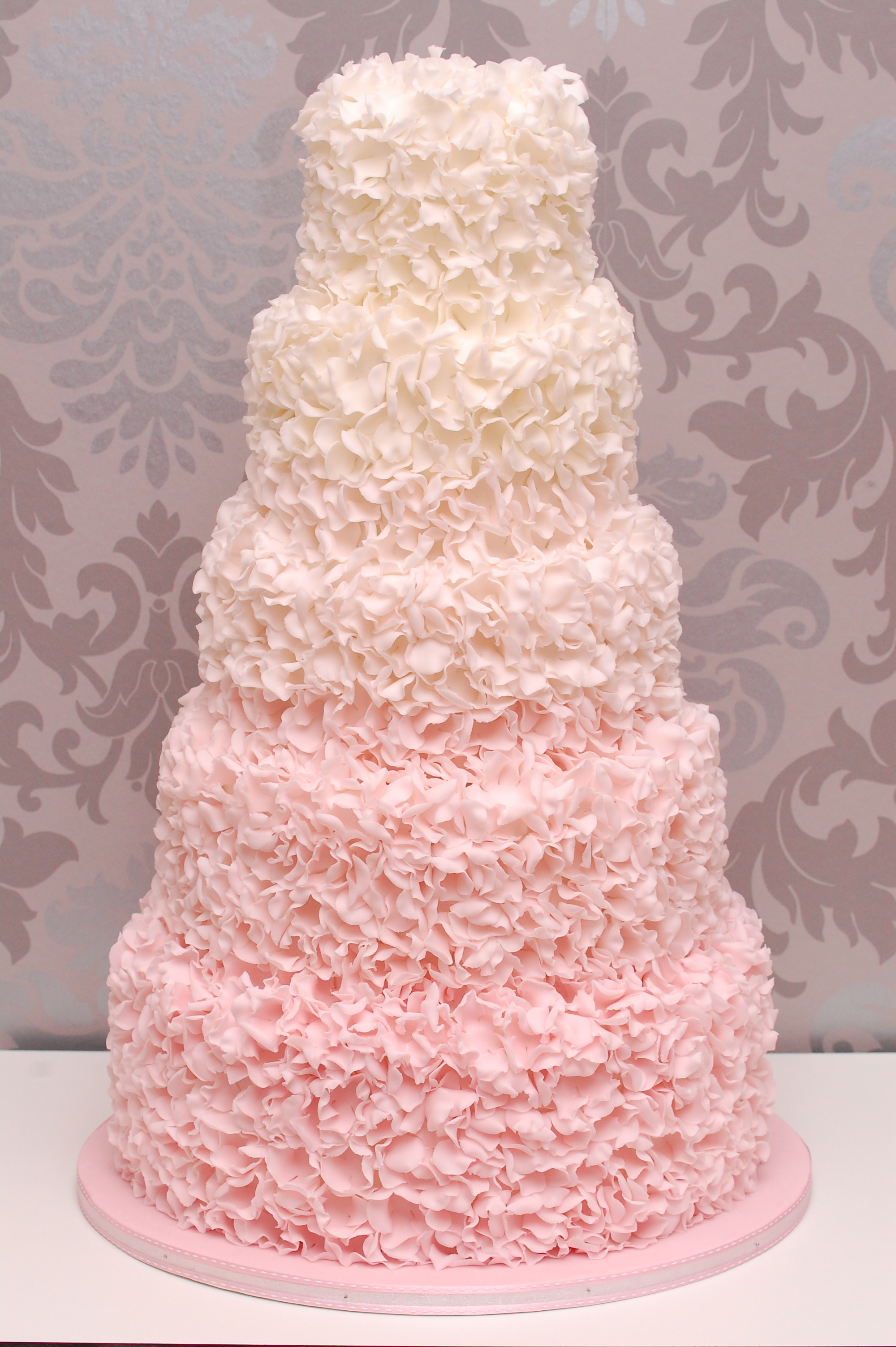 Pink & White Ombre Wedding