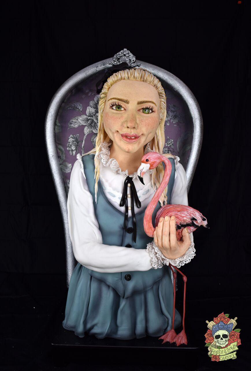 Sculpted Alice in Wonderland