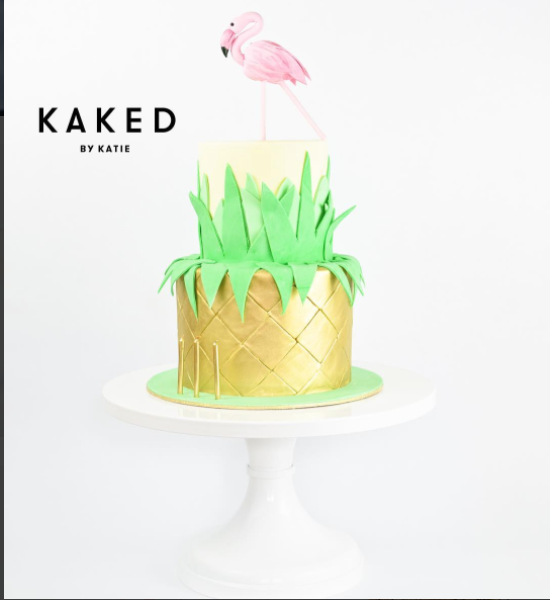 Summer Flamingo Cake